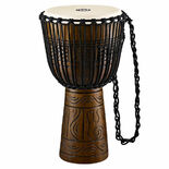 meinl headliner artifact series rope tuned wood djembe