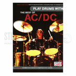 ac/dc-play drums with the best of ac/dc (online access included)