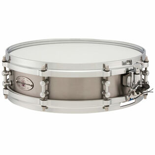 black swamp mercury series snare drum - titanium soundart 13x3.5