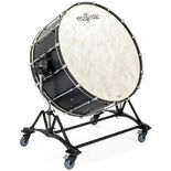 majestic concert bass drum with stand - 32x18