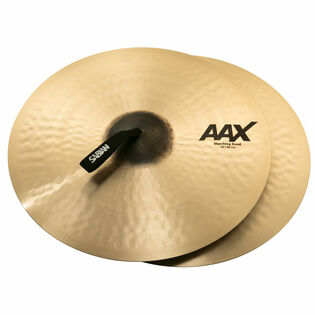 "sabian 19"" aax marching band cymbal pair"