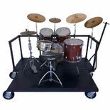 pyle percussion drum set cart