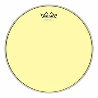 remo colortone emperor crimplock marching tenor drum head - yellow
