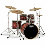 "pdp concept maple 5 piece shell pack - 22"" bass drum"