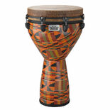 "remo 14"" key-tuned djembe - kinte kloth finish (open box)"