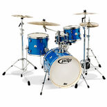 "pdp new yorker 4 piece shell pack - 18"" bass drum"