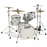 "PDP New Yorker 4 Piece Shell Pack - 18"" Bass Drum Alternate Picture"