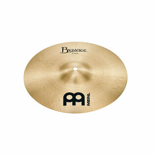 "meinl 10"" byzance traditional splash cymbal"