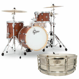 gretsch catalina club jazz 3 piece shell pack with free liberty one snare drum
