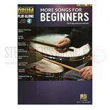 hal leonard drum play-along-more songs for beginners vol. 52 (audio access included)