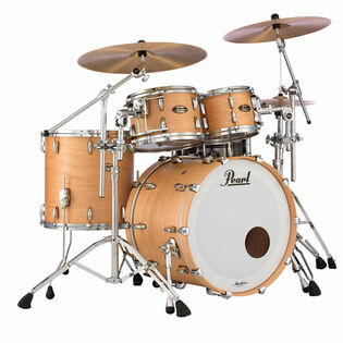 "pearl masters maple gum 4 piece shell pack with 22"" bass drum"