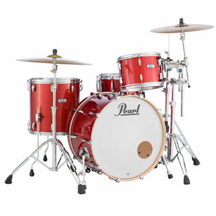 "pearl mct masters maple complete 3-piece shell pack with 24"" bass drum"