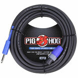 pig hog 50' 14 gauge speaker cable - speakon to 1/4''