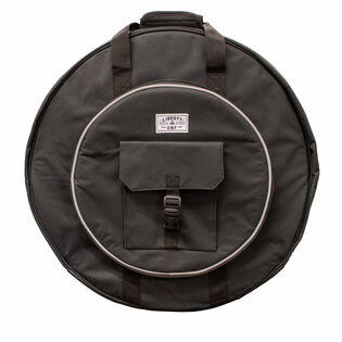 "liberty one 22"" deluxe cymbal bag with backpack straps"