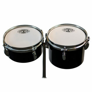 liberty one tube toms - high set with stand