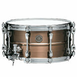 tama starphonic copper snare drum - 14x7