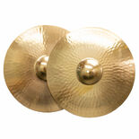 "weiss 18"" traditional cast marching band cymbals"
