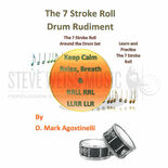 agostinelli-7 stroke roll drum rudiment, the