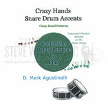 agostinelli-crazy hands snare drum accents