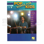 hal leonard-drum play-along-pop songs for kids vol. 53 (audio access included)