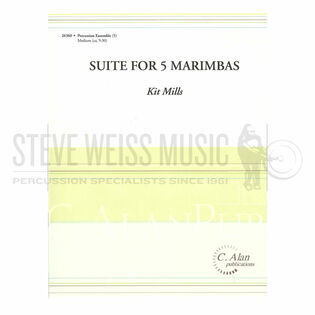 mills-suite for 5 marimbas (sp)-5m