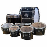 Mapex Eagles Drumline - Gloss Black With Chrome Hardware (Used Demo) Alternate Picture