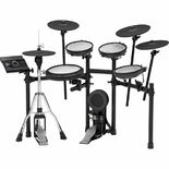 roland td-17kvx v-drums electronic drum set with free bass drum pedal and hi-hat stand