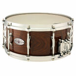 black swamp concert solid walnut multisonic snare drum - 14x6.5