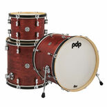 pdp concept maple classic 3 piece shell pack - 22′ bass drum