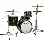 "Ludwig Breakbeats Questlove 4 Piece Drum Set with Hardware and Cymbals - 16"" Bass Drum Alternate Picture"