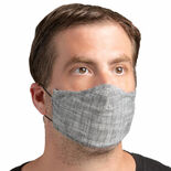 levy's reusable face mask - charcoal