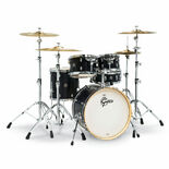 gretsch catalina special edition 5 piece shell pack ebony satin with 20′ bass drum