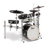 pearl e/merge e/hybrid electronic drum set with free hardware pack