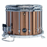 Mapex 14x12 Quantum XT Marching Snare Drum Crushed Bronze Finish with FREE S600 Snare Stand Alternate Picture
