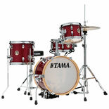 tama club-jam flyer 4-piece drum set - candy apple mist