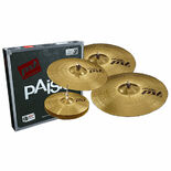 paiste pst 3 limited edition universal set (14/18/20) with free 16′ crash