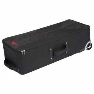 skb soft-sided mid-size drum hardware case with wheels