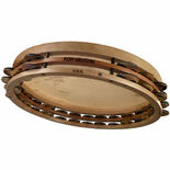 "ron vaughn percussion 14"" thunderbird tambourine"