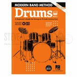 burstein/hale-modern band method-drums book 1 (online audio/video access included)