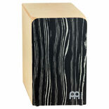 meinl woodcraft snare cajon - striped onyx