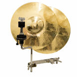 weiss 10′ traditional cast hi-hat cymbals with free x-hat attachment