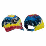 steve weiss music hat - twill cap - rainbow tie-dyed