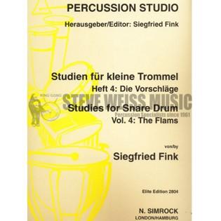 fink studies for snare drum vol 5 the roll snare drum method books snare drum steve. Black Bedroom Furniture Sets. Home Design Ideas