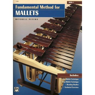 peters-fundamental method for mallets vol. 1