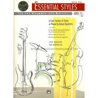 houghton/warrington- essential styles book 1 (w/cd)