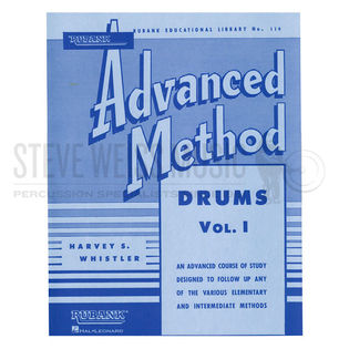 whistler-rubank advanced method (drums)
