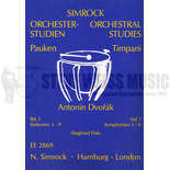 dvorak-timpani parts vol. 1: symphonies 3 - 9