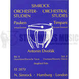 dvorak-timpani parts vol. 2: overtures/slavonic dances