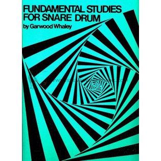 whaley-fundamental studies for snare drum