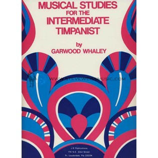 whaley-musical studies for the intermediate timpanist